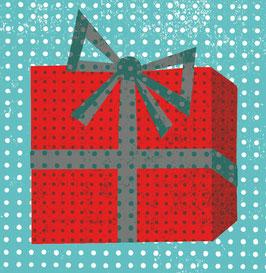 Kleine Geschenkkarte