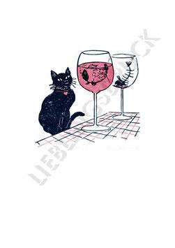 Grafik »Schade, dass man Wein nicht streicheln kann