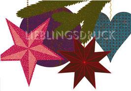 Weihnachtsschmuck Sterne
