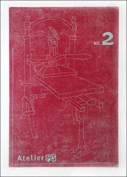 Kniehebelpresse— Atelier PS N° 2