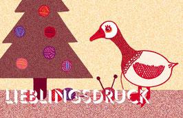 Anhänger Wollweihnachten