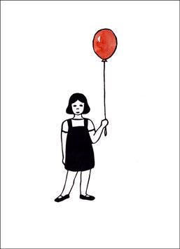 Change – Mädchen mit Luftballon