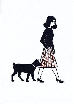 Change – Frau mit Hund