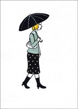 Change – Frau mit Schirm