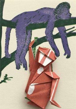 Origami-Affe