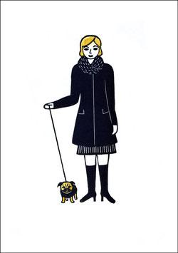 Change – Frau mit Mops