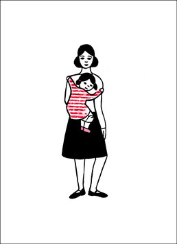 Change – Frau mit Kind auf dem Arm