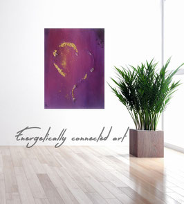Painting with amethyst