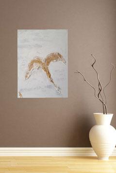 Gemälde mit Quarz