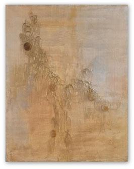 Gemälde mit gelben Calcit