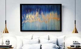 Gemälde mit Aura Engel - verkauft