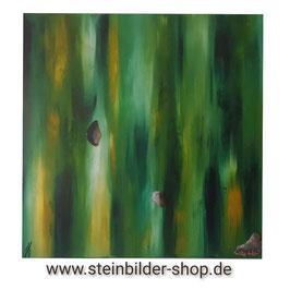 Gemälde Hoffnung mit Achat