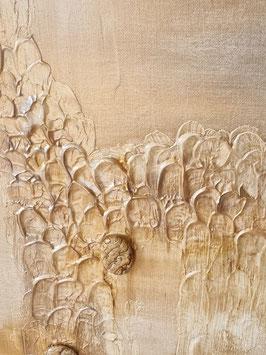 Gemälde mit Landschaftsjaspis - verkauft