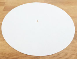 Turntable Mat white finest wool