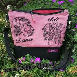 """Handtasche """"Deutsche Doggenkumpels"""""""