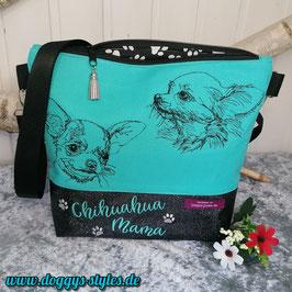 """Handtasche """"Chihuahuakumpels"""""""