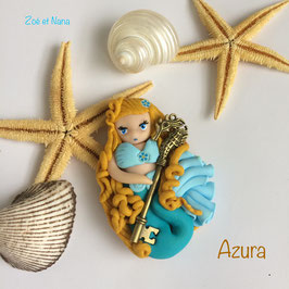 Poupée Azura... Sirène... Poupées marines