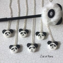 Collier enfant, Panda, kawaii