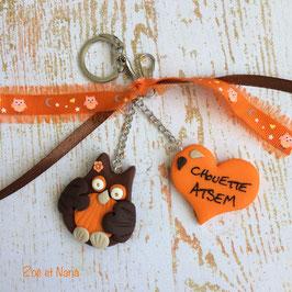 Chouette Atsem... Marron et orange