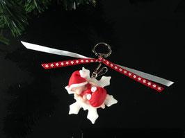 Porte clé Bébé Noël garçon