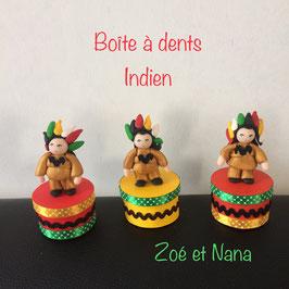 Boite à dents... Indien
