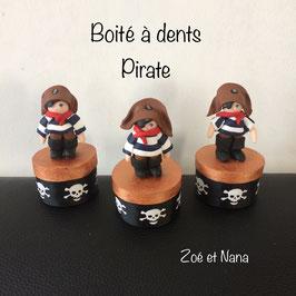 Boite à dents... Pirate