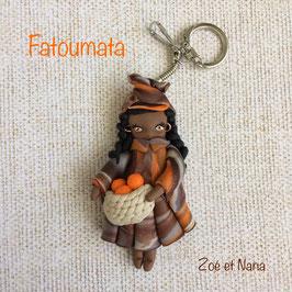 Poupée du Monde... Fatoumata... porte clé