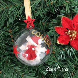 Boule de Noël personnalisée, avec prénom... Bébé fille