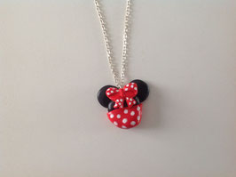 Collier pour fille (ref. donut rouge)