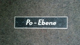 "Sitzkissen ""Po-Ebene"""