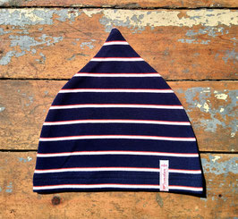 Jerseymütze blau-weiß-rot