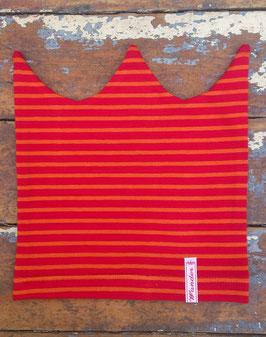 Jerseymütze rot-orange