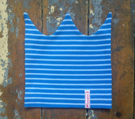 Jerseymütze blau-blau