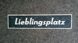 "Sitzkissen ""Lieblingsplatz"""