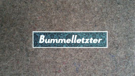 "Sitzkissen ""Bummelletzter"""