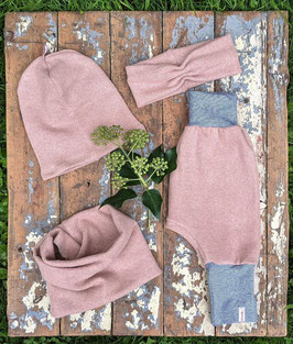 Pumphose Strick rosé