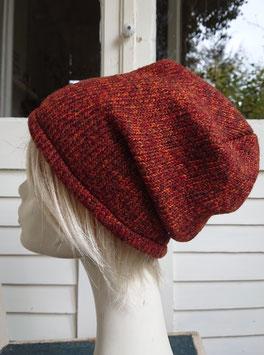 Mütze Strick rost