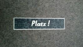 """Sitzkissen """"Platz!"""""""