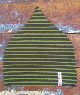 Jerseymütze dunkelgrün-grün