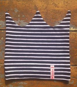 Jerseymütze dunkelblau-weiß
