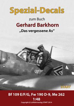 """Decals zum Buch """"Das vergessene As"""" – Der Jagdflieger Gerhard Barkhorn"""