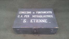 Cassetta Mitragliatrice S. Etienne - ww1
