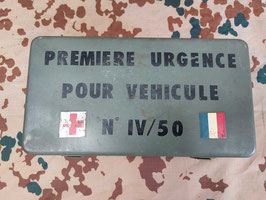 Cassetta Medica Francese da Jeep (##)