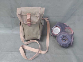 Maschera antigas  INGLESE M44 custodia tracolla - ww2