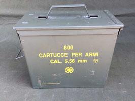 Cassetta porta munizioni cal. 5.56