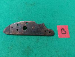 Cartella piastra laterale con perni  Moschetto epoca 1700/1800 (#1)