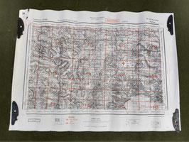 Carta Geografica TEDESCA Mappa Andorra- ww2 (##)