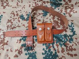 Porta caricatore pistola Browning HP35, cinturone cm. 115 (##)