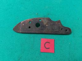 Cartella piastra laterale incisioni Moschetto epoca 1700/1800 (#1)