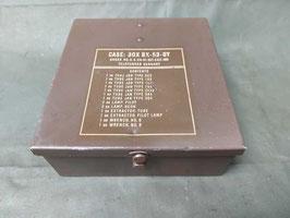 Cassetta scatola contenitore Militare in metallo